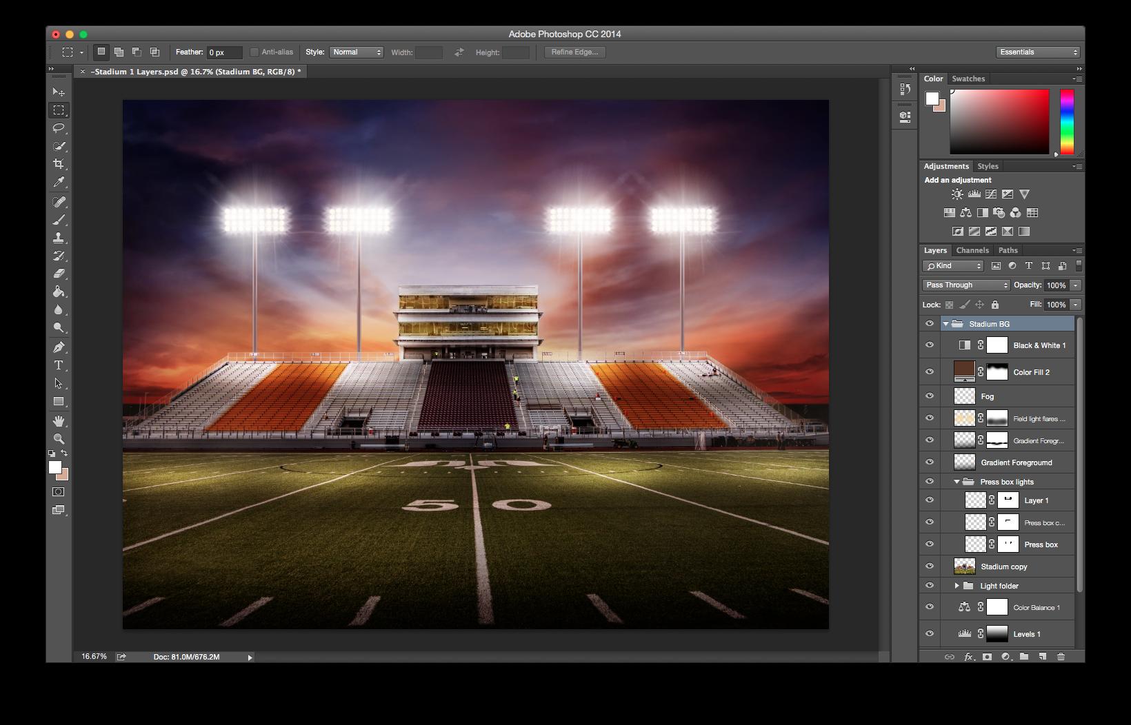 Dynamic Sports Art Backgrounds – Stadium | SturDaVinci Art ...