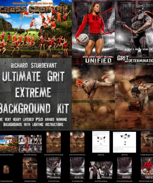 Ultimate Grit Extreme Background Kit web