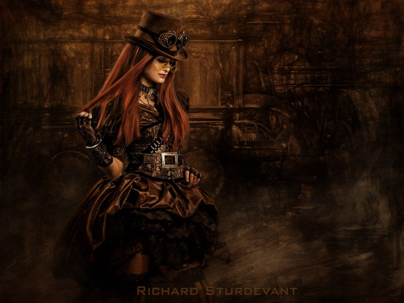 SturDaVinci Art Tools | Vintage Steampunk Background