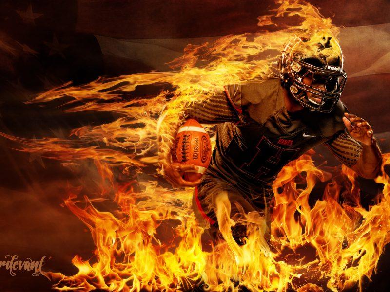 American Blaze Background