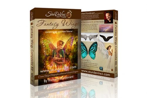 Fantasy Wings Composite Kit and Video Tutorial