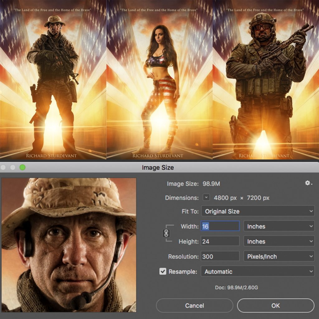 The Brave PSD Background examples