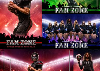 Fan Zone PSD Background by Richard Sturdevant - SturDaVinci Art Tools