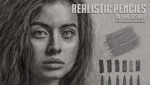 Realistic Pencils in Photoshop