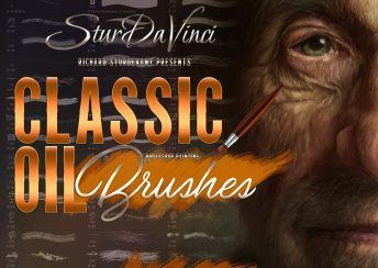 SturdaVinci Art Tools Classic Oil Photoshop Brushes