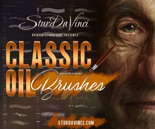 Classic Oil Photoshop Brushes