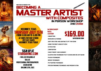 Richard Sturdevant Master Artist Class